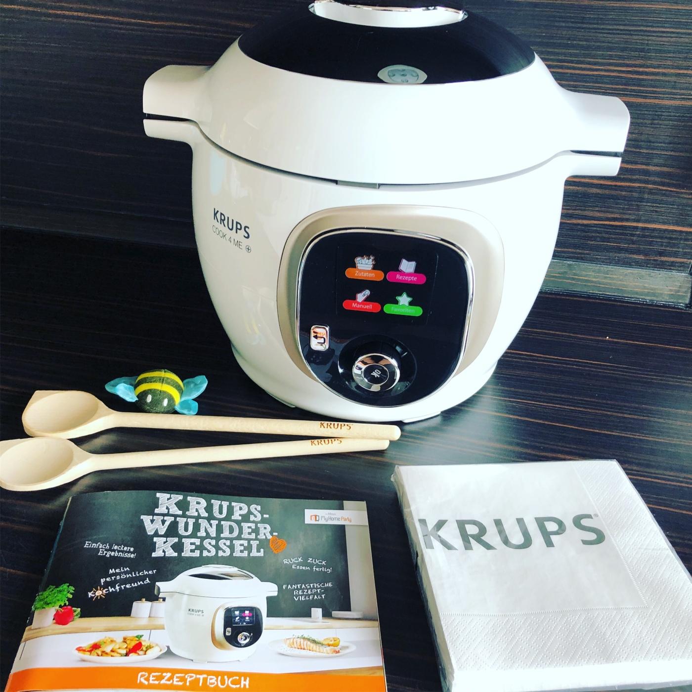 Krups cook4 me – Schnellkochtopf in modern – Produkttest mit Gewinnbiene